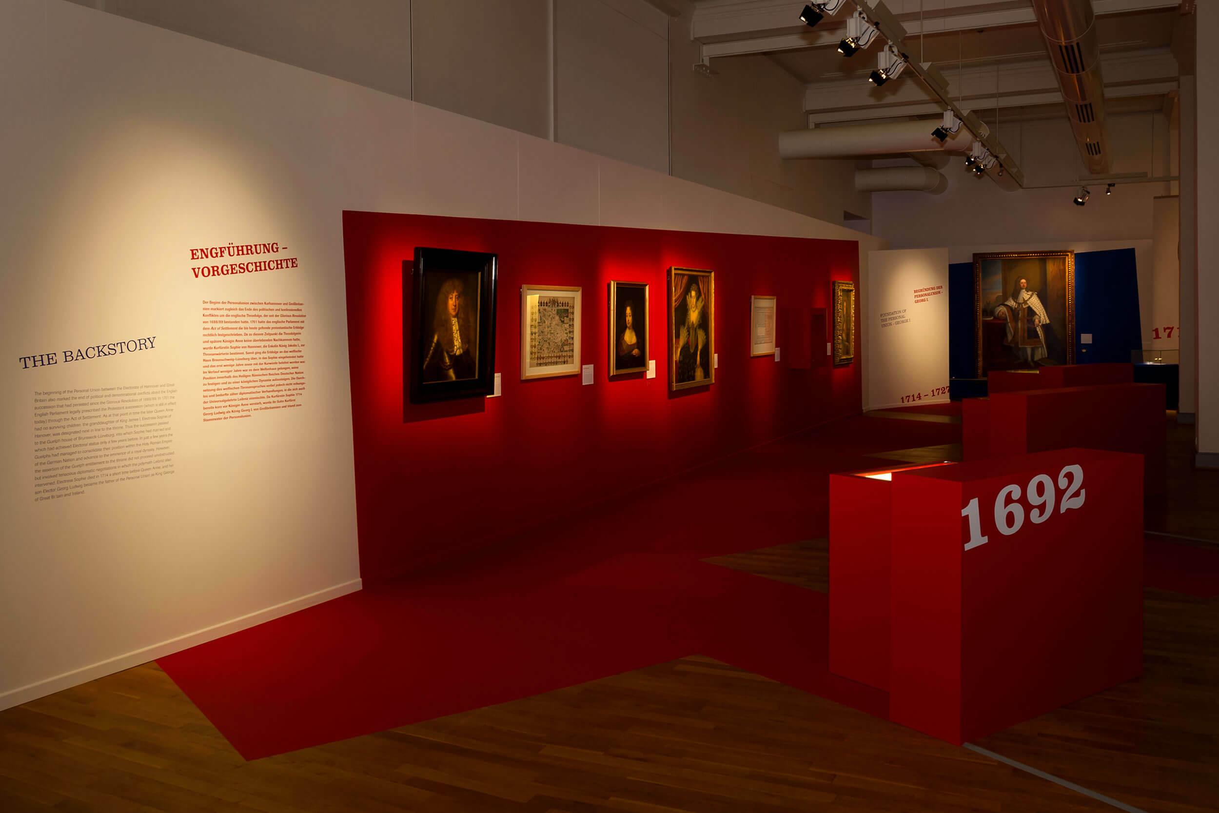 Historische Gemälde im Landesmuseum Hannover