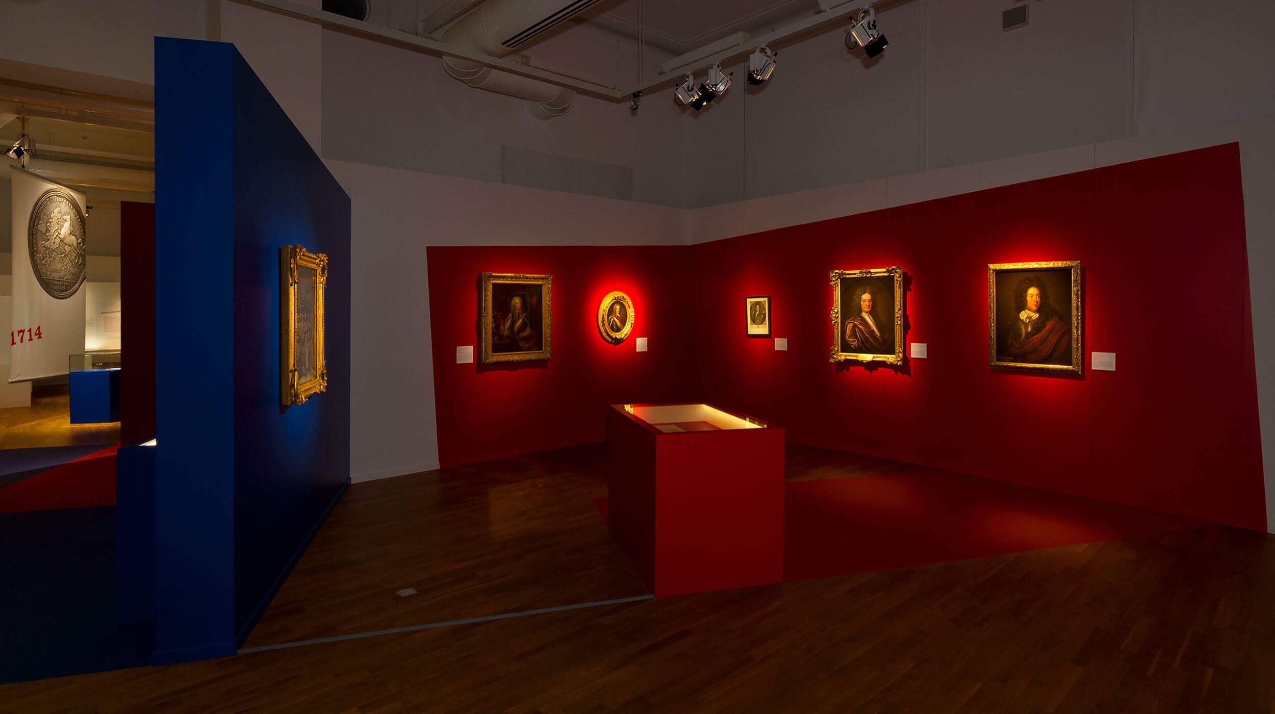 Portraits ausgestellt im Landesmuseum Hannover