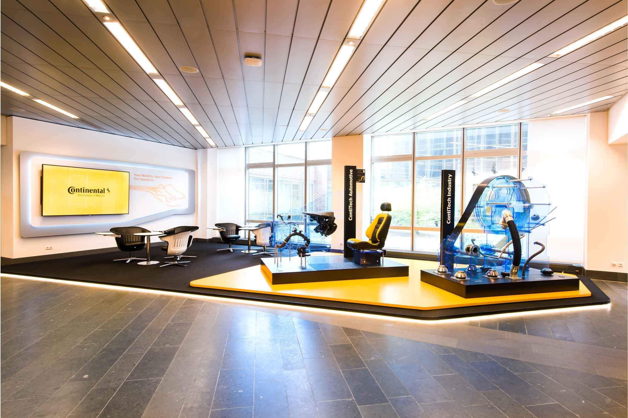 Office Design umgesetzt von Expomondo für Freenet
