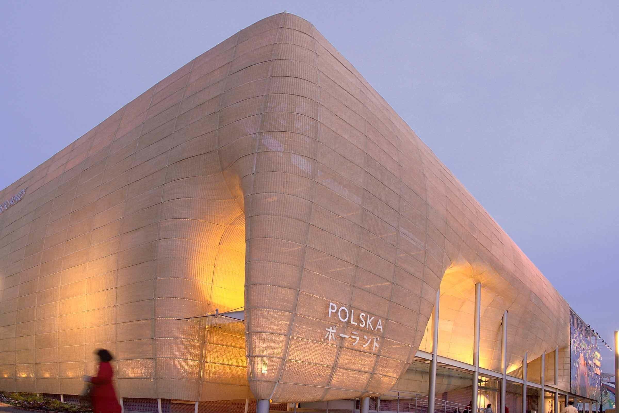 Polnischer Länderpavillon in Japan