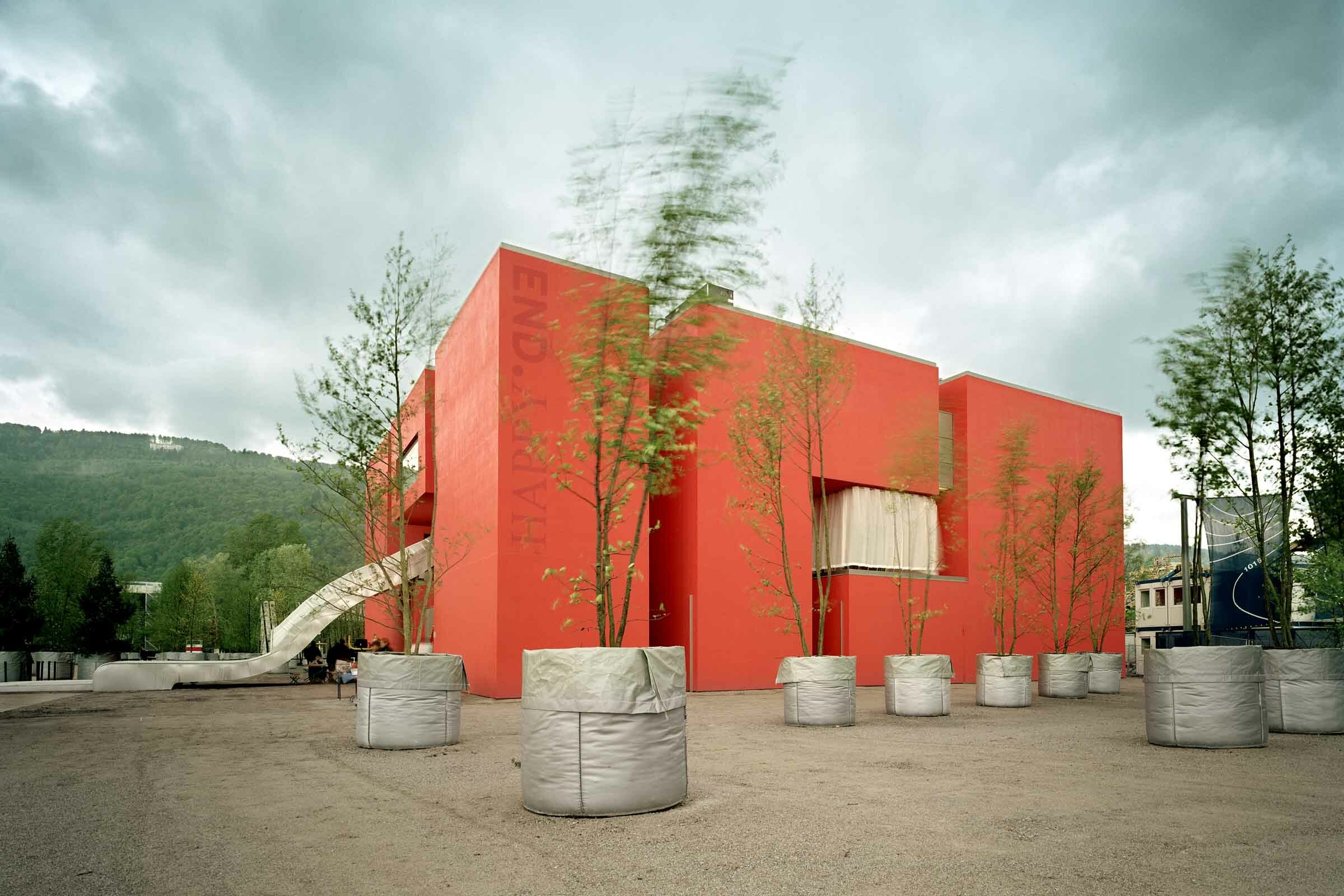 Temporäre Architektur umgesetzt von Expomondo